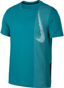 Nike Dri-FIT SS Training férfi póló Férfiak zöld