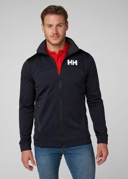 Helly Hansen HP Fleece férfi cipzáras felső Férfiak kék