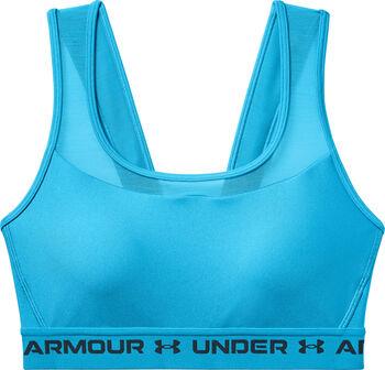 Under Armour Mid Crossback MF sportmelltartó Nők kék