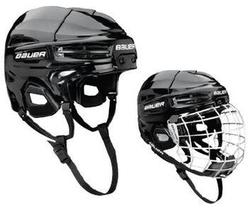 Bauer IMS 5.0 Combo Helmet jégkorong sisak fekete