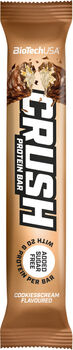 BioTech USA Crush Bar fehérje szelet 64g barna