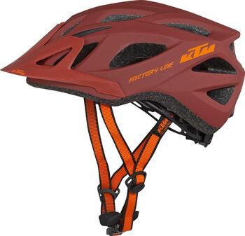 KTM Kerékpár sisak Factory piros
