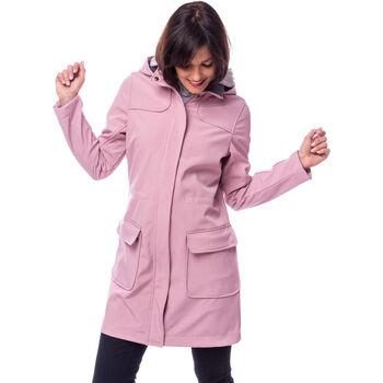 Heavy Tools Yamina női sofshell kabát Nők rózsaszín