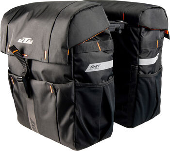 KTM Sport Double Bag kerékpártáska fekete