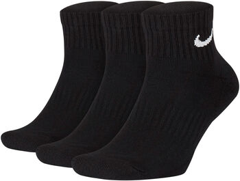 Nike Everyday Cushion Ankle sportzokni (3pár) fekete