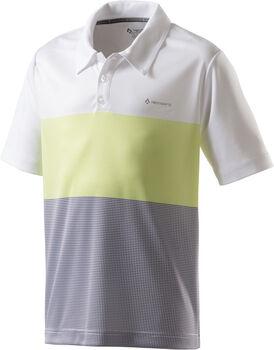 TECNOPRO Donald II jrs fiú tenisz póló törtfehér