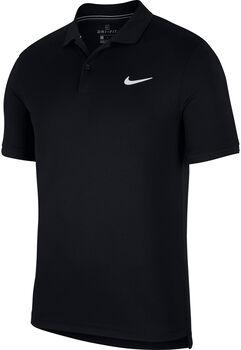 Nike Court Dri-FIT férfi teniszpóló Férfiak fekete