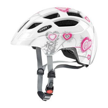 Uvex Finale Junior kerékpáros sisak fehér