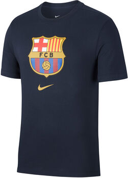 Nike  FCB M Tee Evergreenférfi felső Férfiak kék