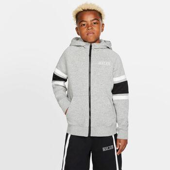 Nike B Nk Air Hoodie Fz gyerek hoszúujjú felső Fiú fekete