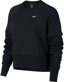 Nike Dri-FIT Long-Sleeve Training Top Nők fekete