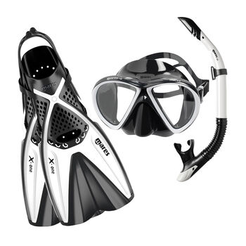 Mares X One sznorkeling szett fehér