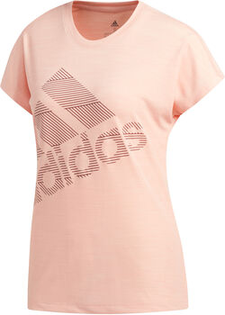 adidas BOS LOGO TEE női rövidujjú póló Nők rózsaszín