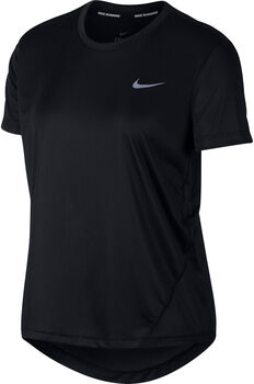 Nike Miler SS Running Top női futópóló Nők fekete
