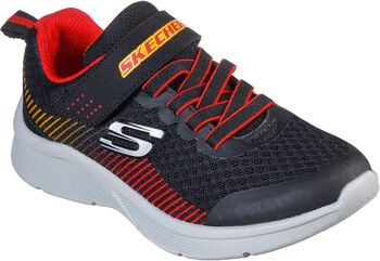 Skechers Microspec - Gorza gyerek fitneszcipő fekete