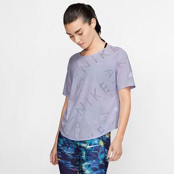 Nike SS Top Air női futópóló Nők lila