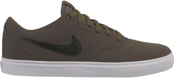 Nike SB Check Solarsoft Canvas szabadidőcipő Férfiak zöld