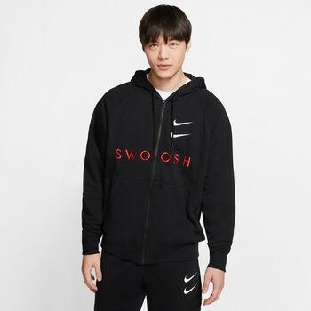 Nike Sportswear Swoosh FZ férfi kapucnis felső Férfiak fekete