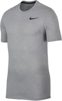 Nike Breathe Top SS Hy férfi póló Férfiak szürke