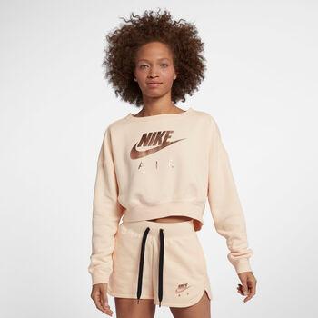 Nike Air Crew Fleece női pulóver Nők narancssárga