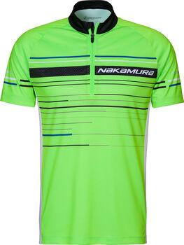 NAKAMURA Este férfi kerékpáros mez Férfiak zöld