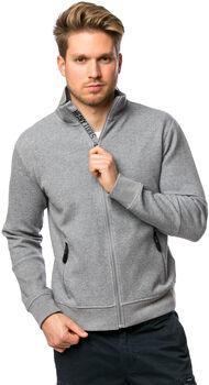 Heavy Tools Thisi férfi cipzáras pulóver Férfiak szürke