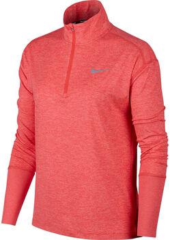 Nike W Element 1/2-Zip női futófelső Nők narancssárga