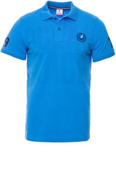 Heavy Tools Down férfi galléros póló Férfiak kék