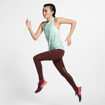 Nike Air Tank női futótop Nők kék