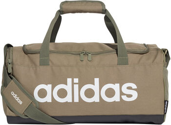 adidas Linear Logo Duffle sporttáska zöld