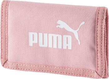 Puma szövet pénzztárca rózsaszín