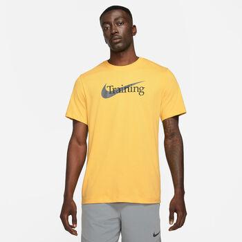 Nike M NK DFC TEE SW férfi póló Férfiak sárga