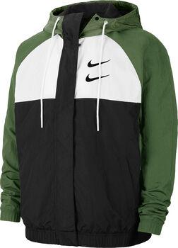 Nike Chaqueta Sportswear Swoosh férfi kapucnis felső Férfiak fekete