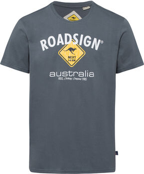 Roadsign férfi póló Férfiak szürke
