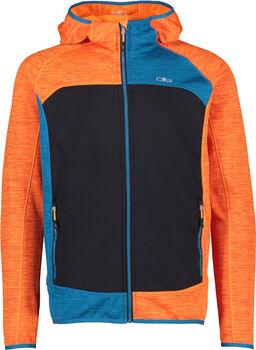 CMP Firenze férfi fleece kapucnis felső Férfiak narancssárga