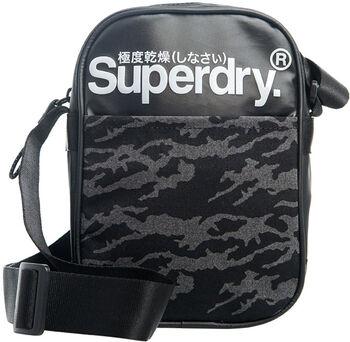 Superdry Mao Tarp Side Bag oldaltáska fekete