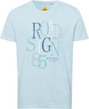 Roadsign 85 férfi póló Férfiak kék