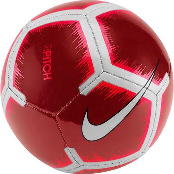 Nike Pitch Soccer Ball piros