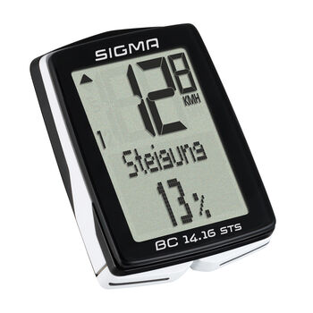 SIGMA BC 14.16 STS kerékpáros computer fekete