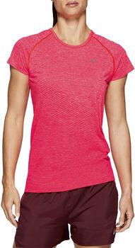 asics Seamless SS Texture Nők rózsaszín