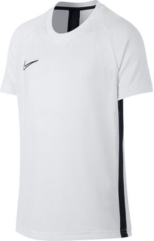 Nike Dri-FIT Academy Big Kids' Short-Sleeve Soccer Top Fiú fehér