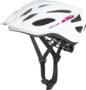 KTM Factory Line Lady női kerékpáros sisak Nők fehér