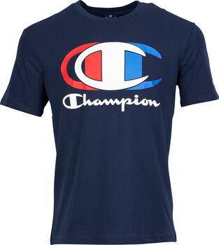 Champion Crewneck Tee férfi póló Férfiak kék