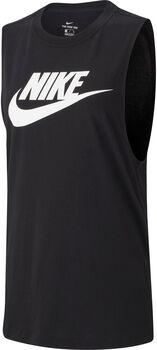 Nike Essential női ujjatlan felső Nők fekete