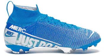 Nike Jr. Superfly Mercurial Elite FG gyerek stoplis focicipő kék