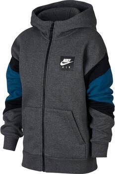 Nike B Air Hoodie Fz gyerek kapucnis felső szürke