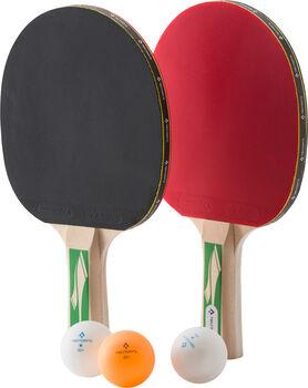 TECNOPRO PRO 3000 2 Player pingpongütő szett fekete