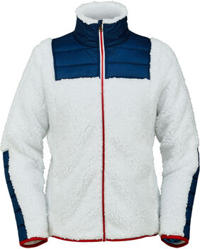 Spyder Boulder FZ Fleece női fleece kabát Nők fehér