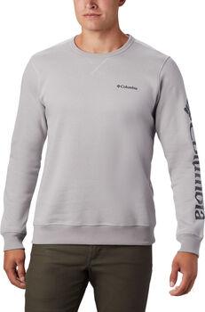 Columbia M Logo Fleece Crew férfi pulóver Férfiak szürke