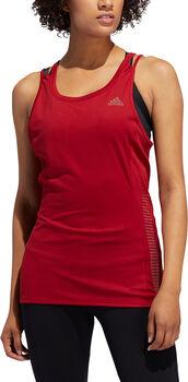 adidas Rise Up N Run Tank női futótop Nők piros